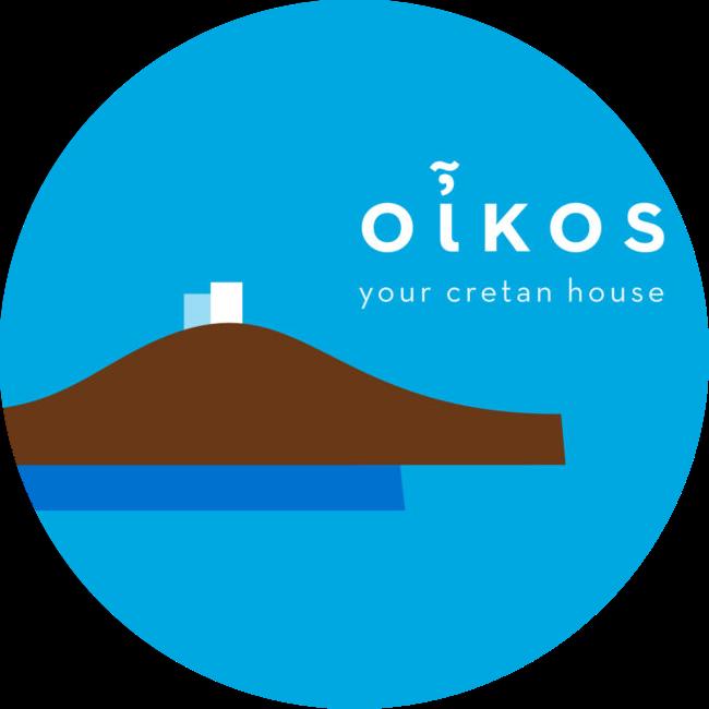 oikos cretan house logo